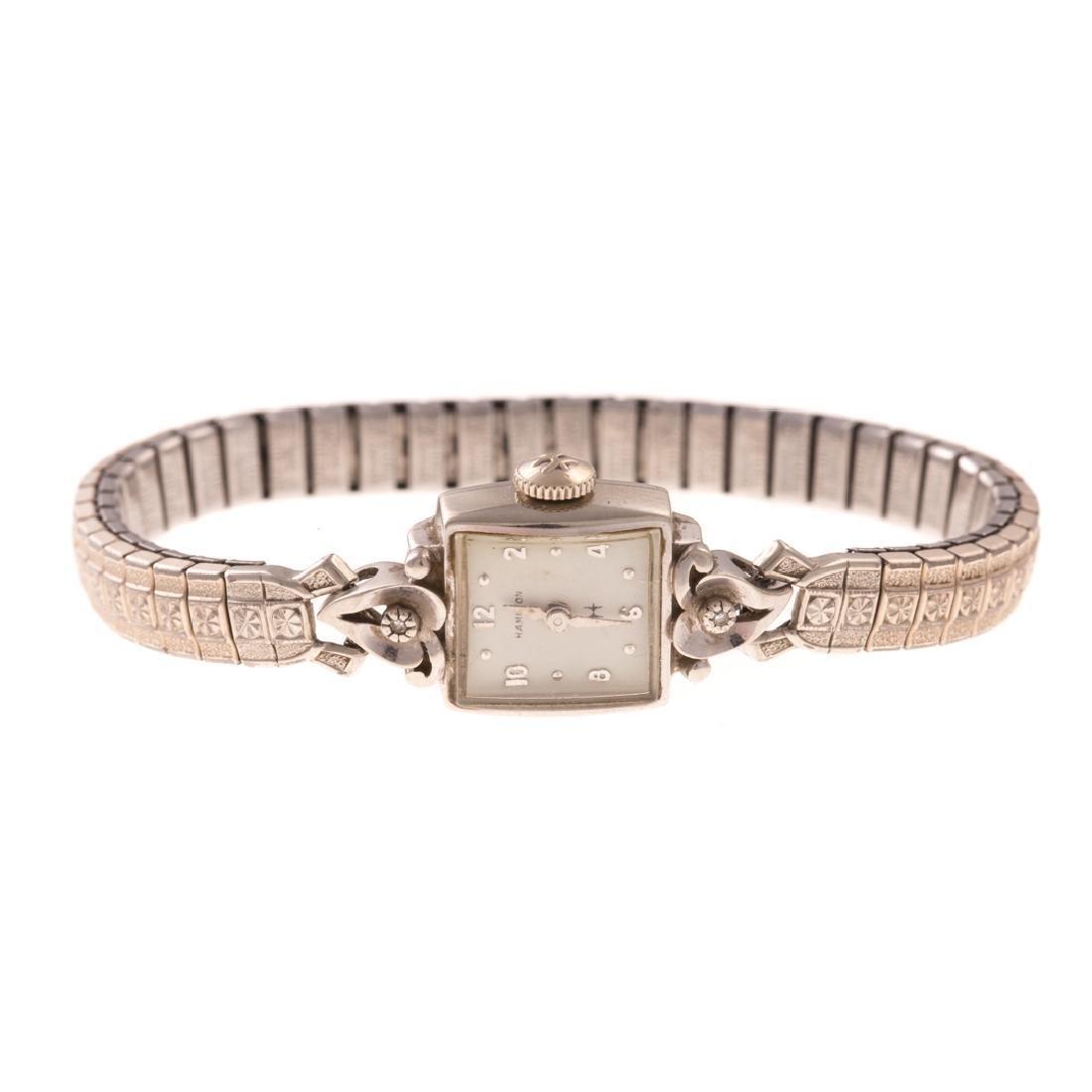 A Pair of Lady's Vintage 14K Bulova Dress Watches - 3