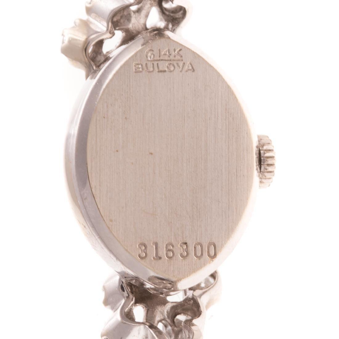 A Pair of Lady's Vintage 14K Bulova Dress Watches - 5