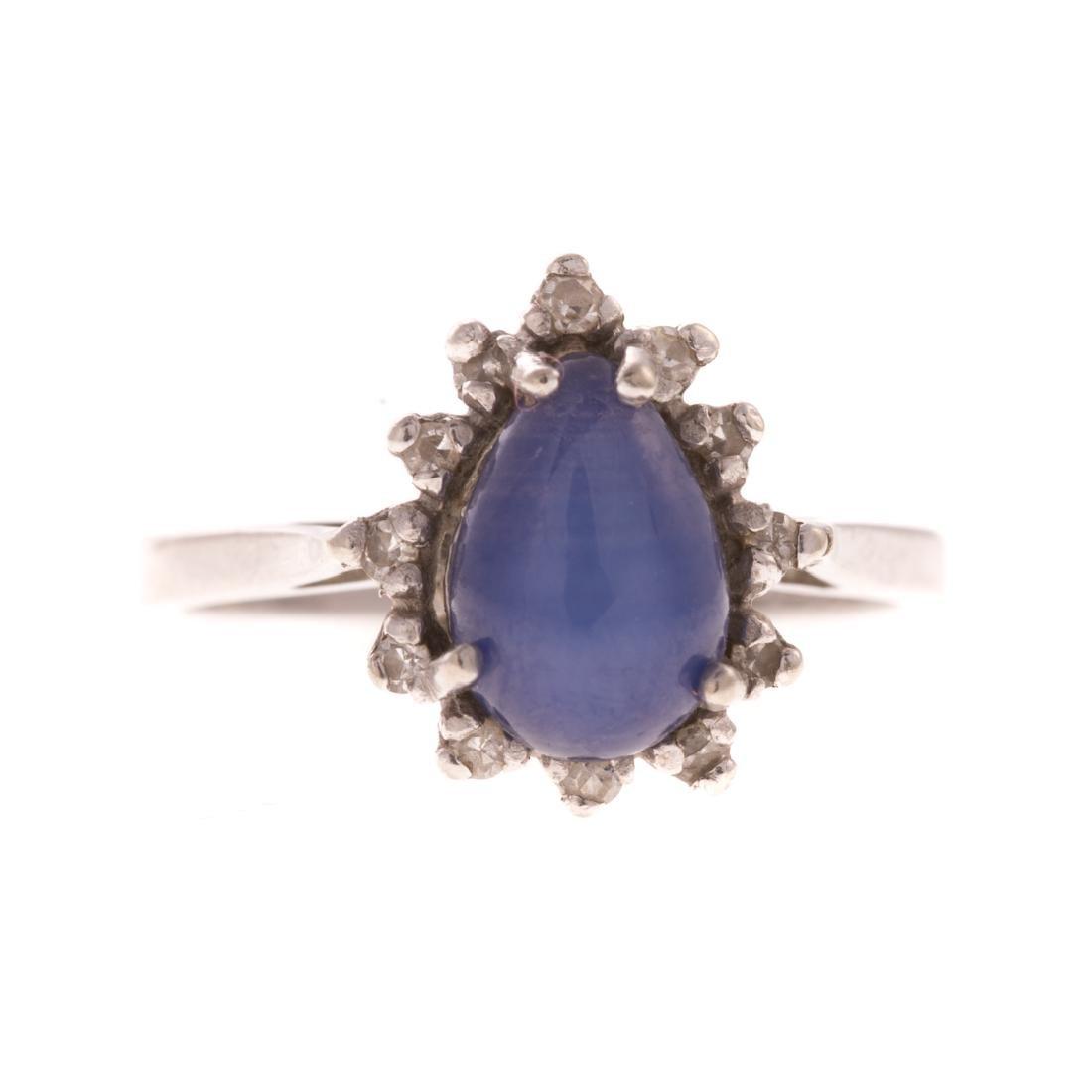 A Lady's White Gold Diamond Bracelet & Ring - 5