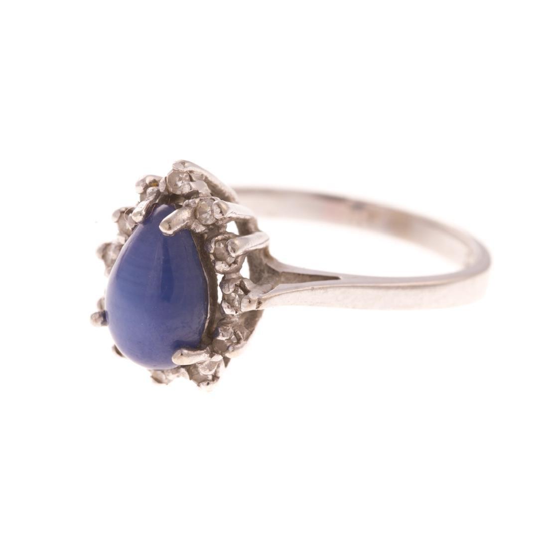 A Lady's White Gold Diamond Bracelet & Ring - 6