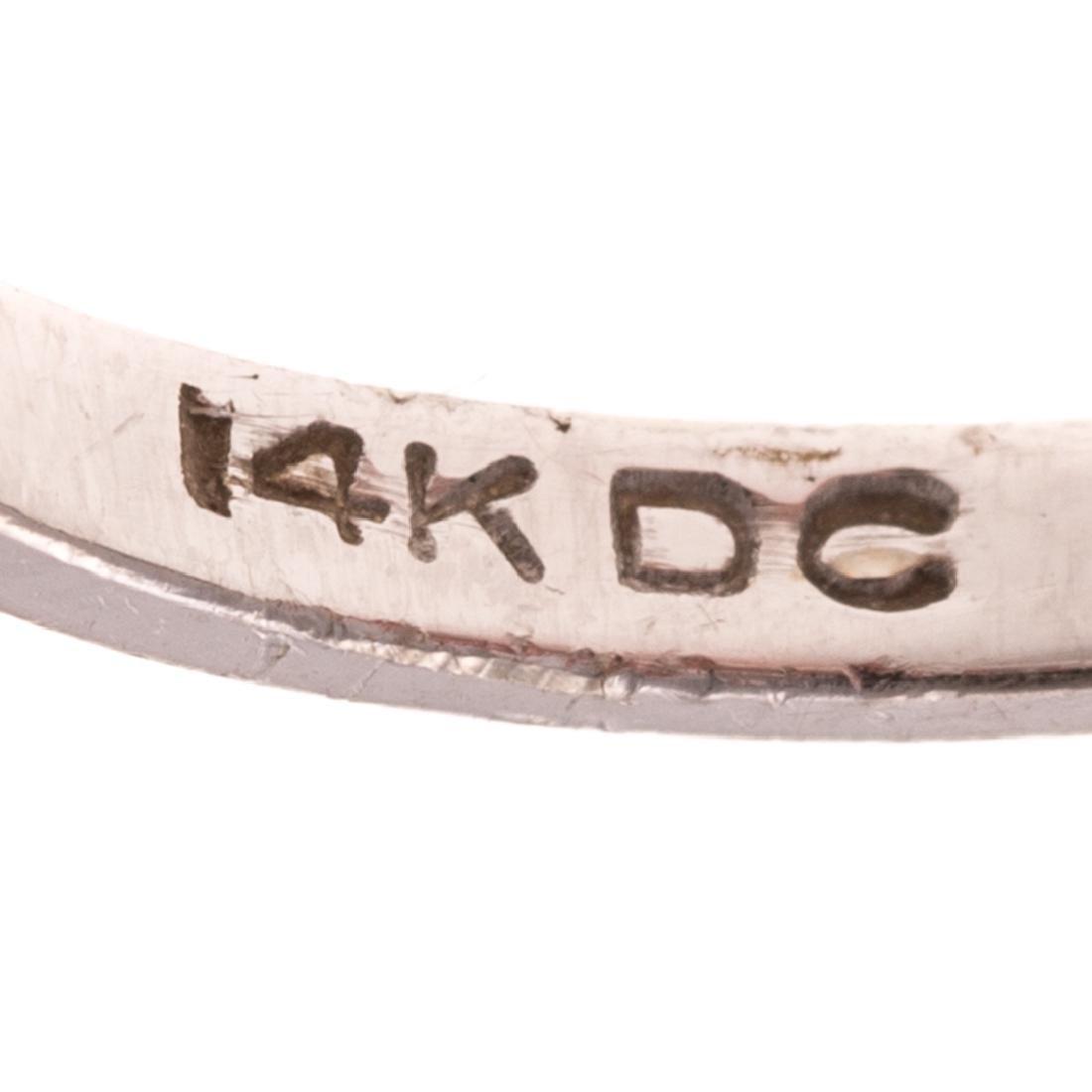 A Lady's White Gold Diamond Bracelet & Ring - 7