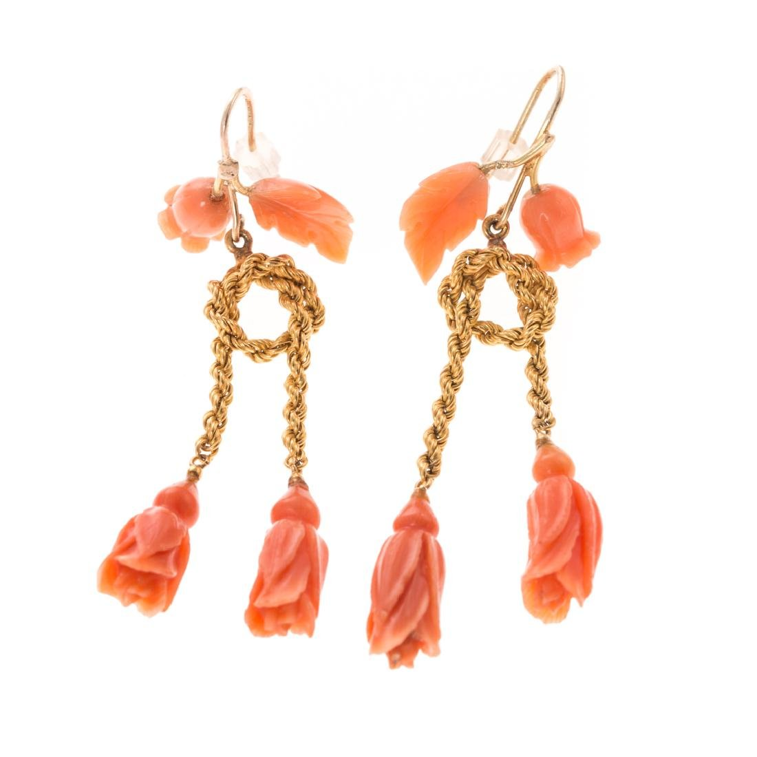 A Collection of Lady's Victorian Coral Jewelry - 2