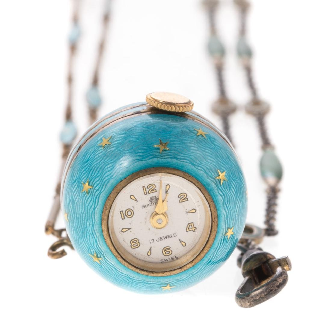 A Lady's Bucherer Ball Watch with Matching Chains