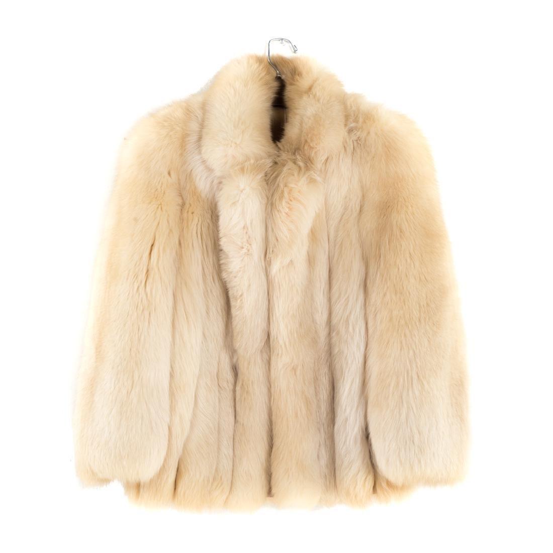 A Lady's Fur Jacket in Fox