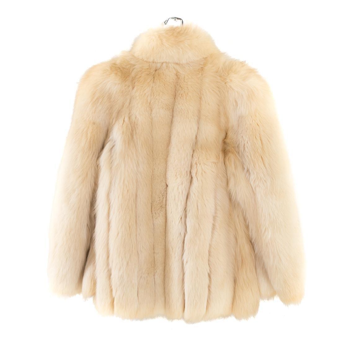 A Lady's Fur Jacket in Fox - 4
