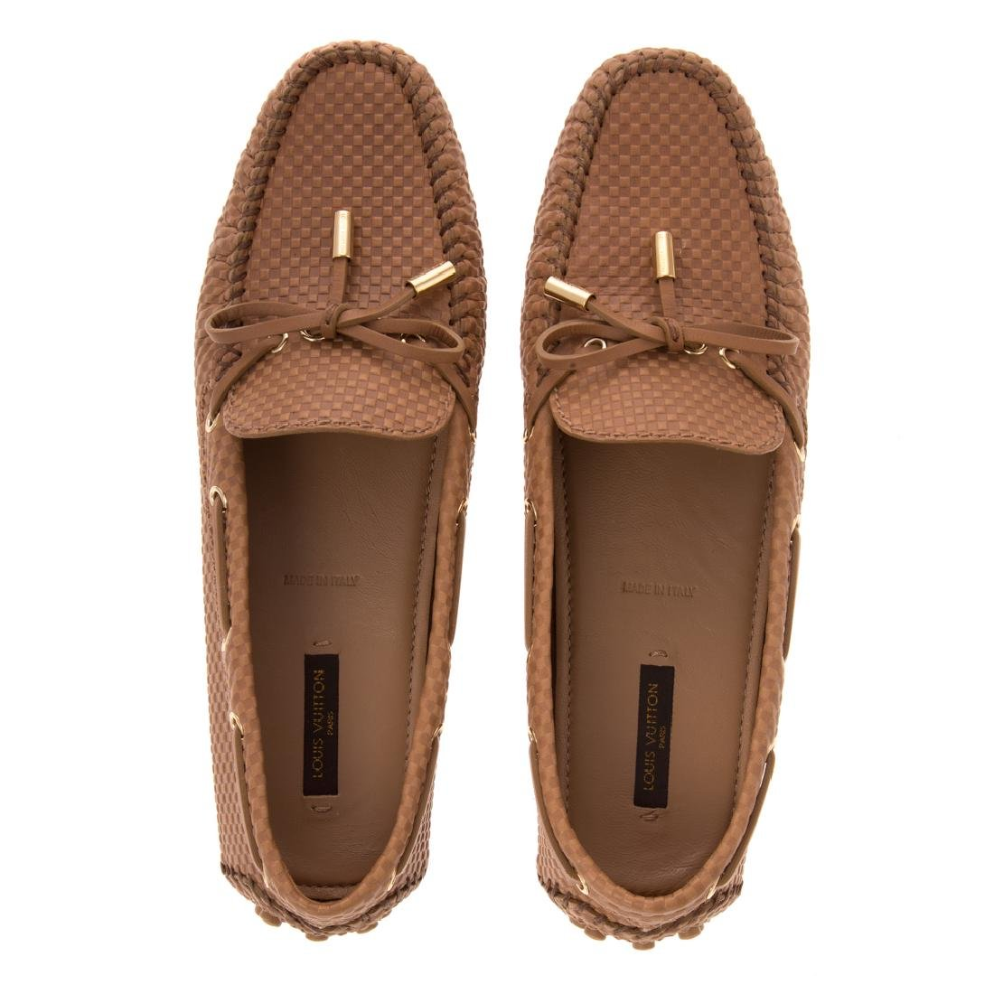 A Pair of Louis Vuitton Lady's Gloria Loafers
