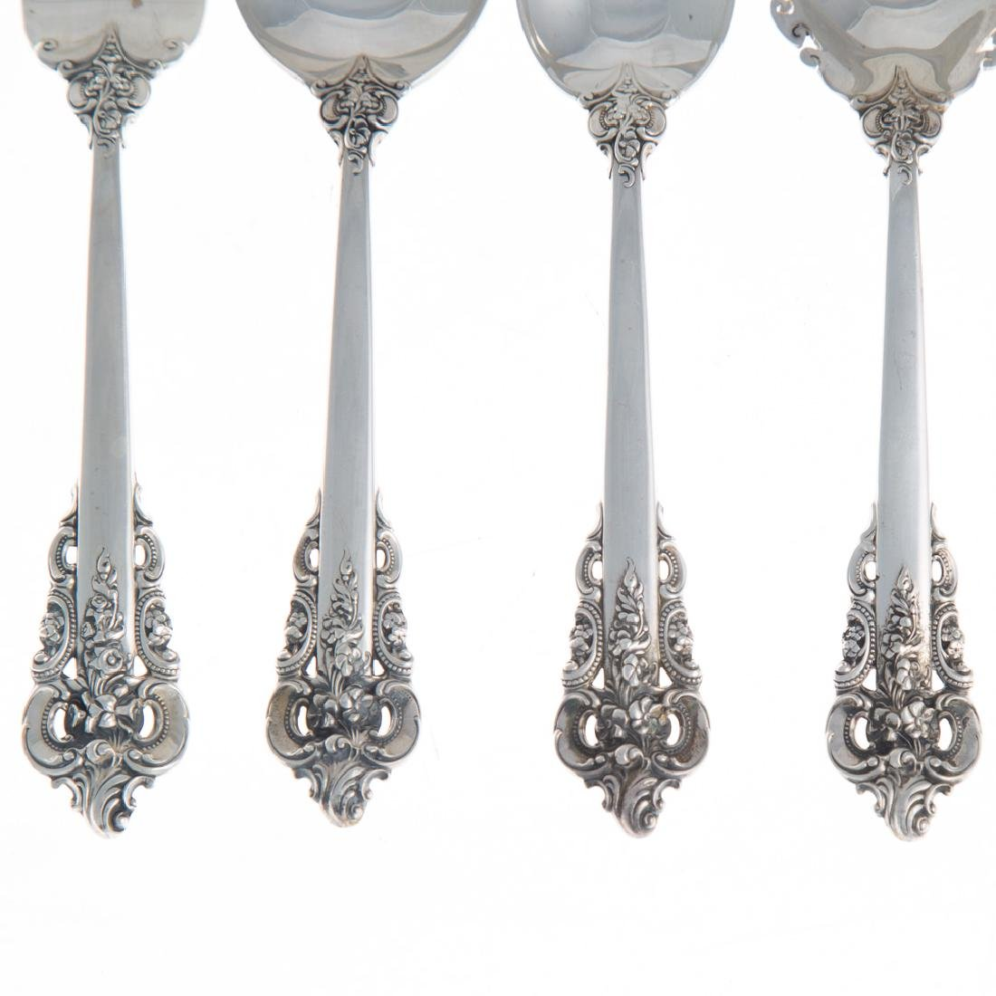 "Wallace ""Grande Baroque"" sterling flatware for 8 - 2"