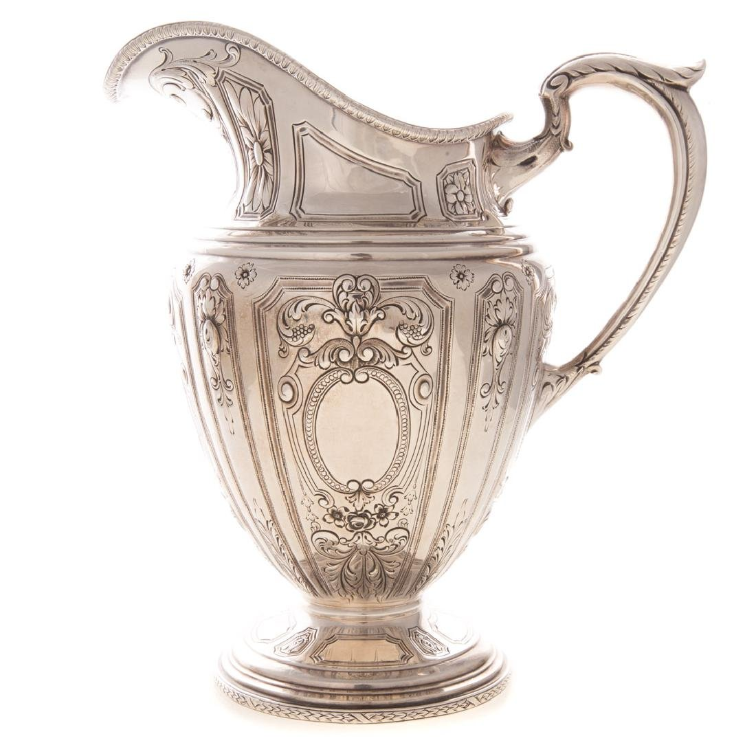 Baltimore sterling silver pitcher by Schofield