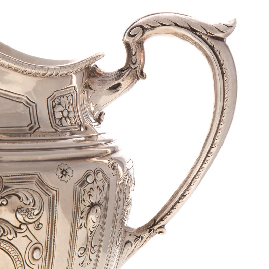 Baltimore sterling silver pitcher by Schofield - 5