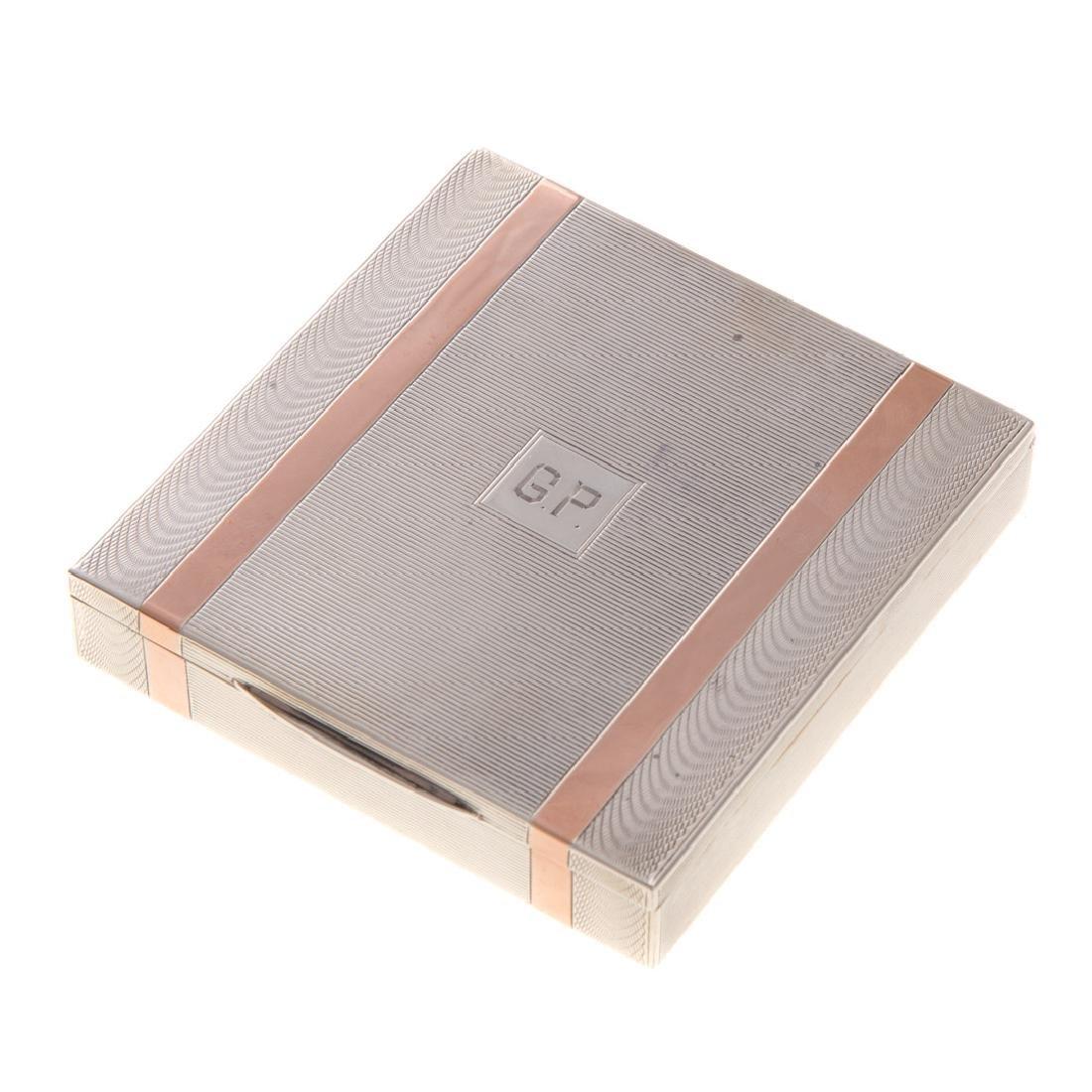 Two silver objets de vertu - 2