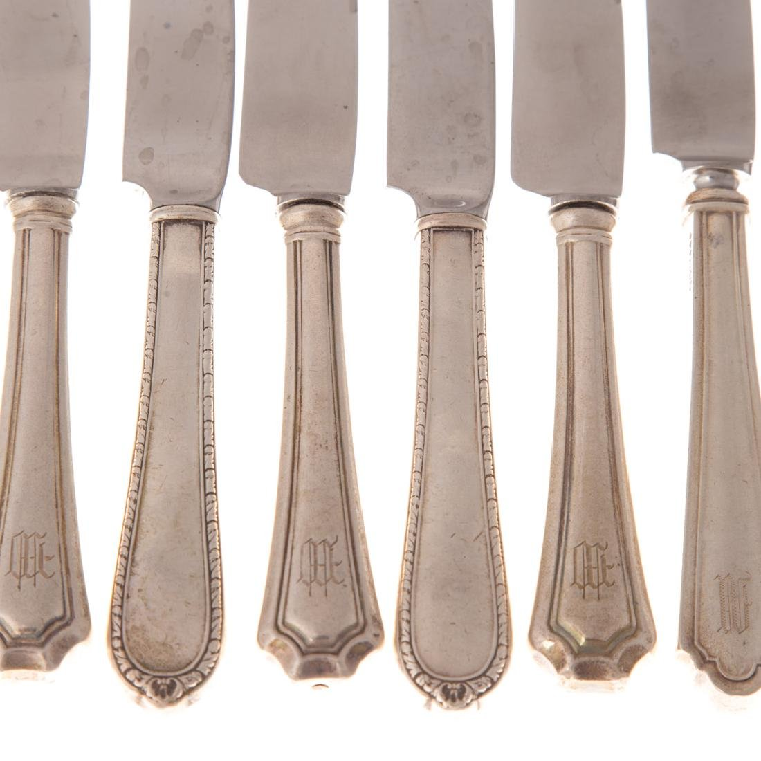 Collection of sterling silver flatware - 2