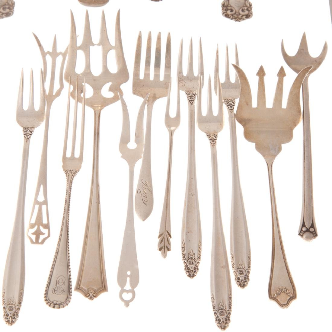 Collection of sterling silver flatware - 3
