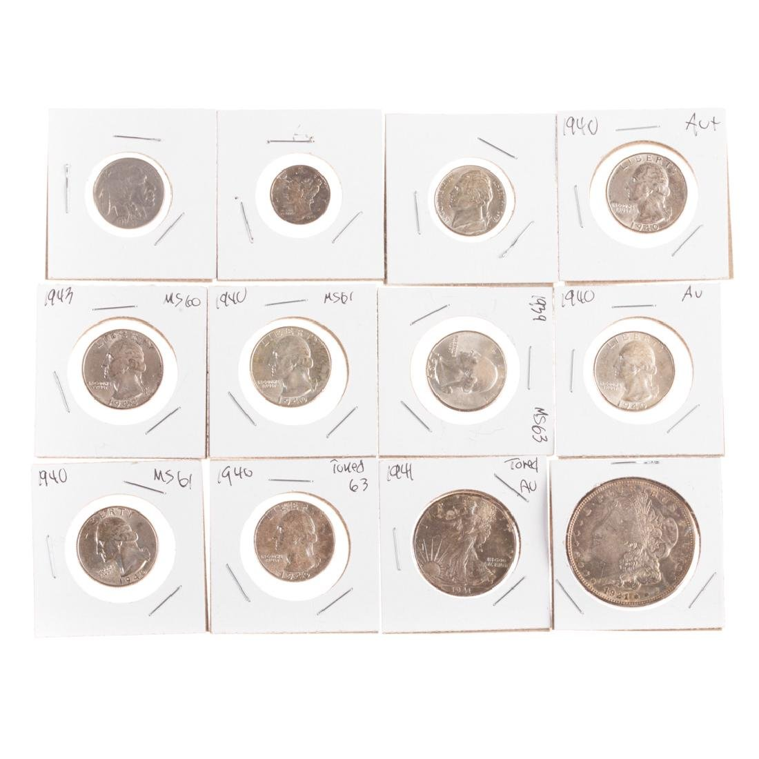 [US] Nice Group of Hi-Grade Mid-20th Century Coins