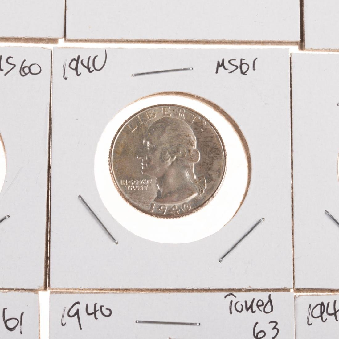 [US] Nice Group of Hi-Grade Mid-20th Century Coins - 3
