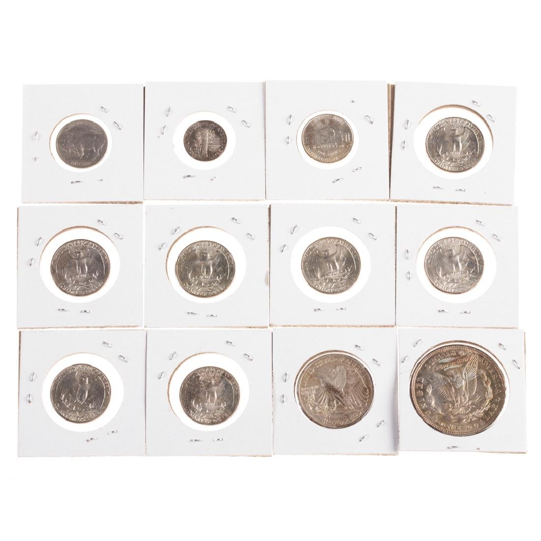 [US] Nice Group of Hi-Grade Mid-20th Century Coins - 4