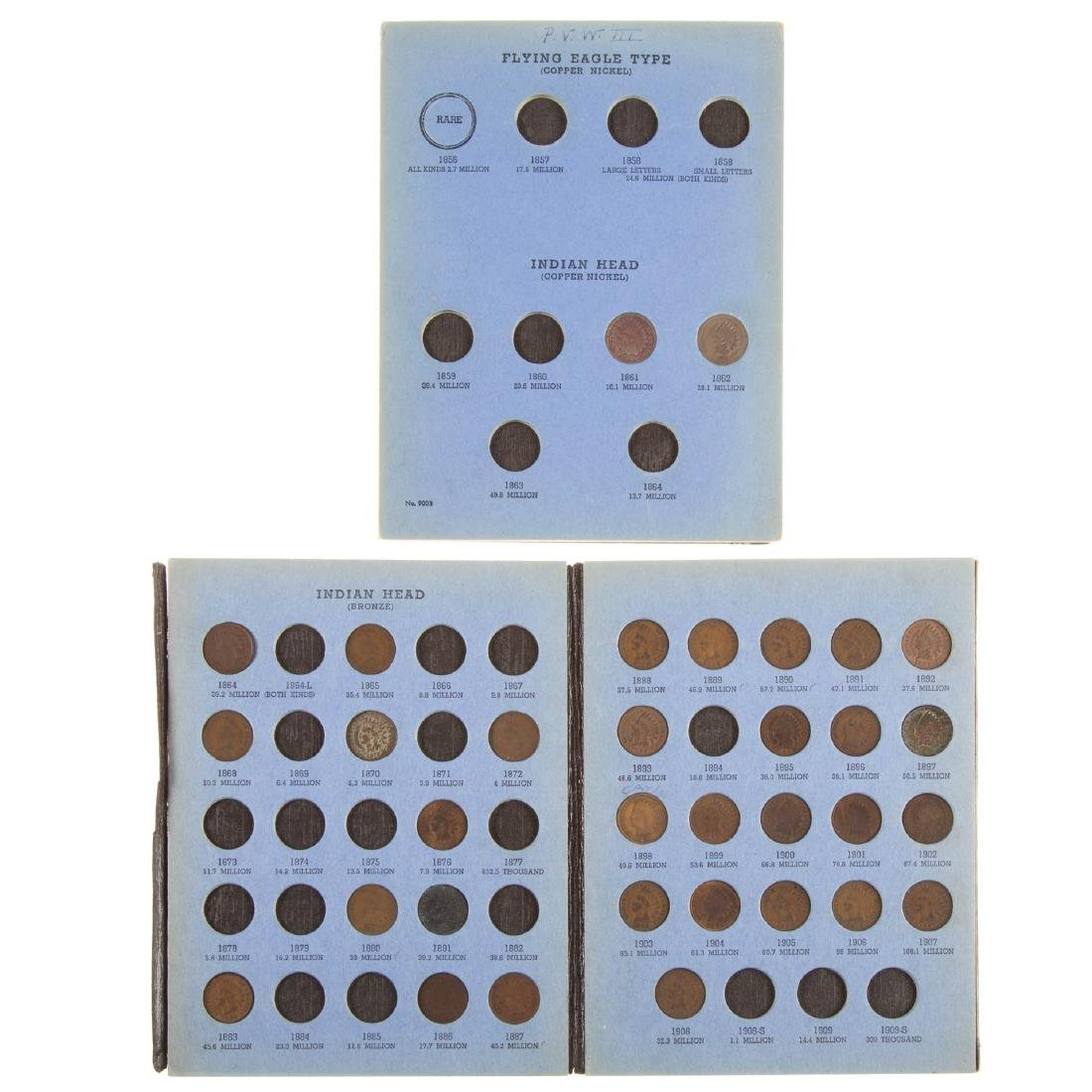[US] Nice Indian Cent Starter Set with some keys