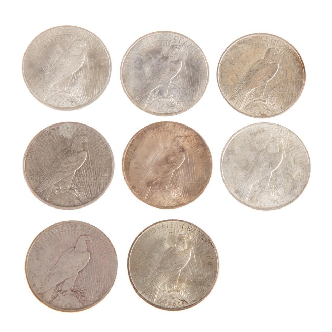[US] 8 Better Peace Dollars - 2