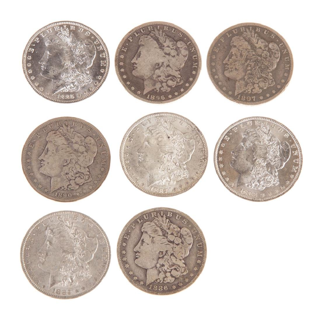 [US] 8 Morgan Silver Dollars from New Orleans