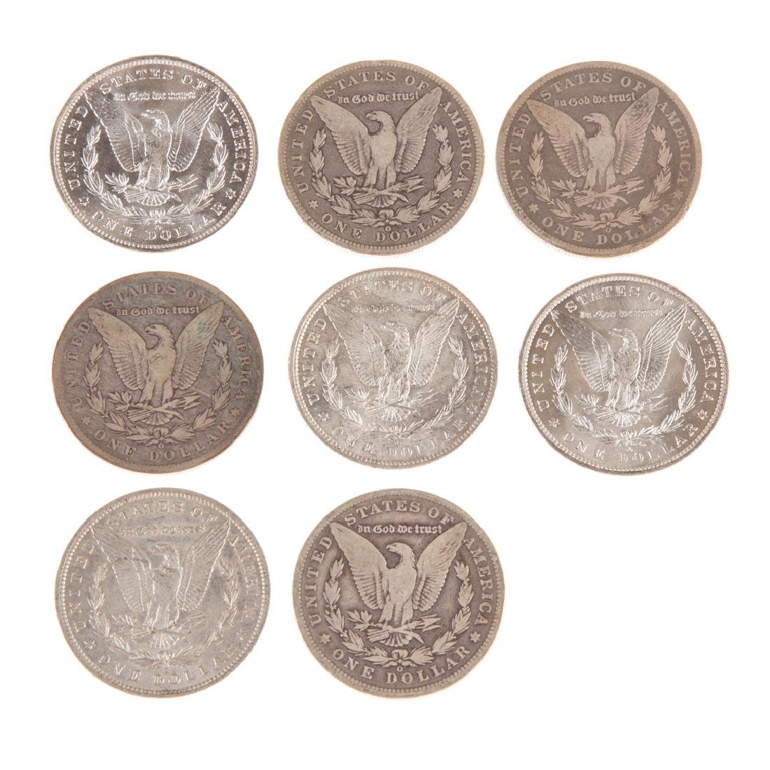 [US] 8 Morgan Silver Dollars from New Orleans - 2