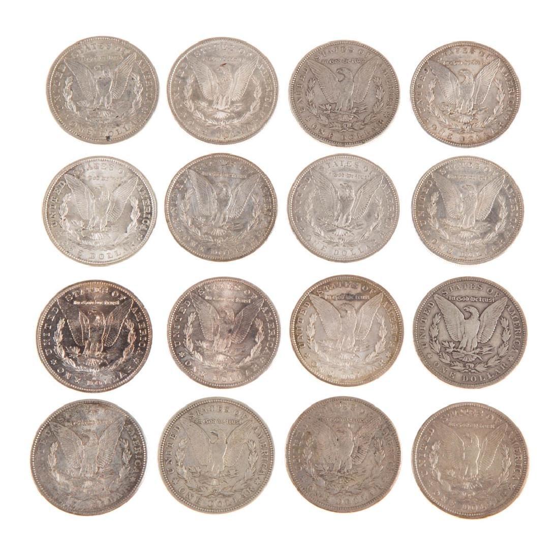 [US] Sixteen Morgan Silver Dollars - 3