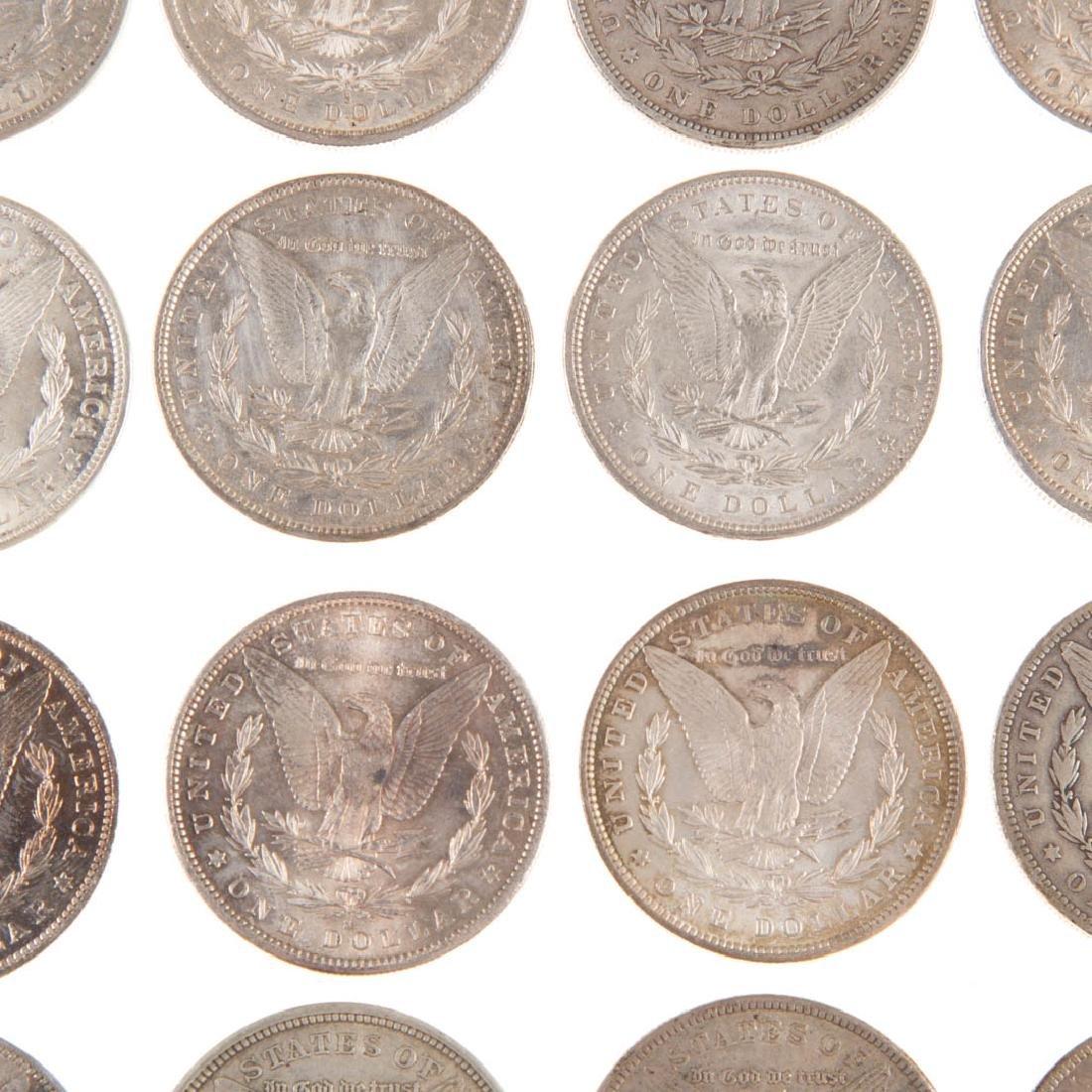 [US] Sixteen Morgan Silver Dollars - 4