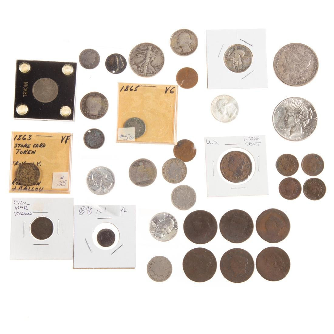 [US] Assortment of nice US type coins