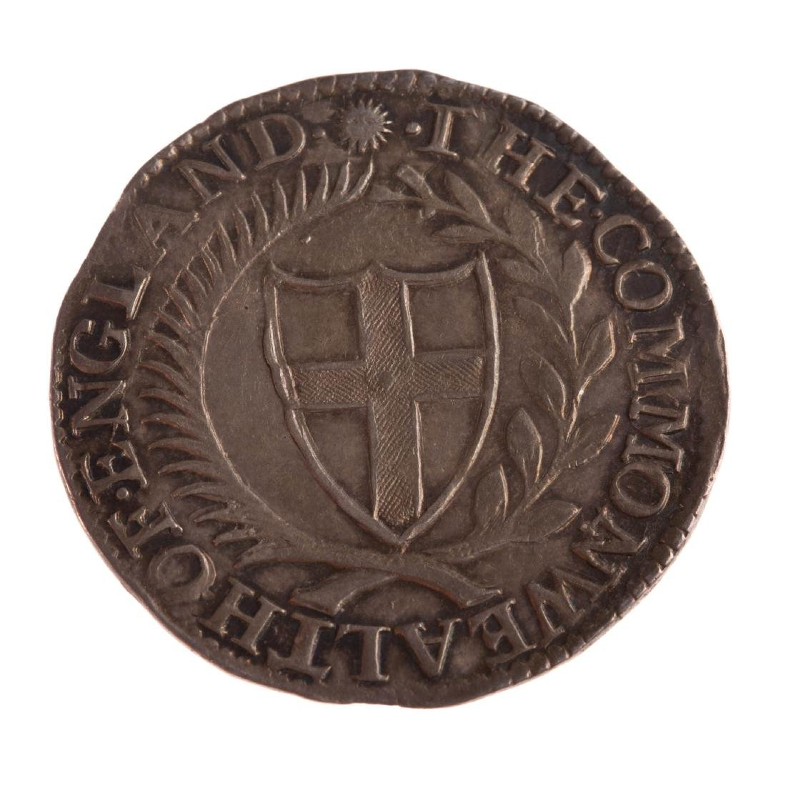 [World] 1651 Shilling - Oliver Cromwell VF/XF - 2