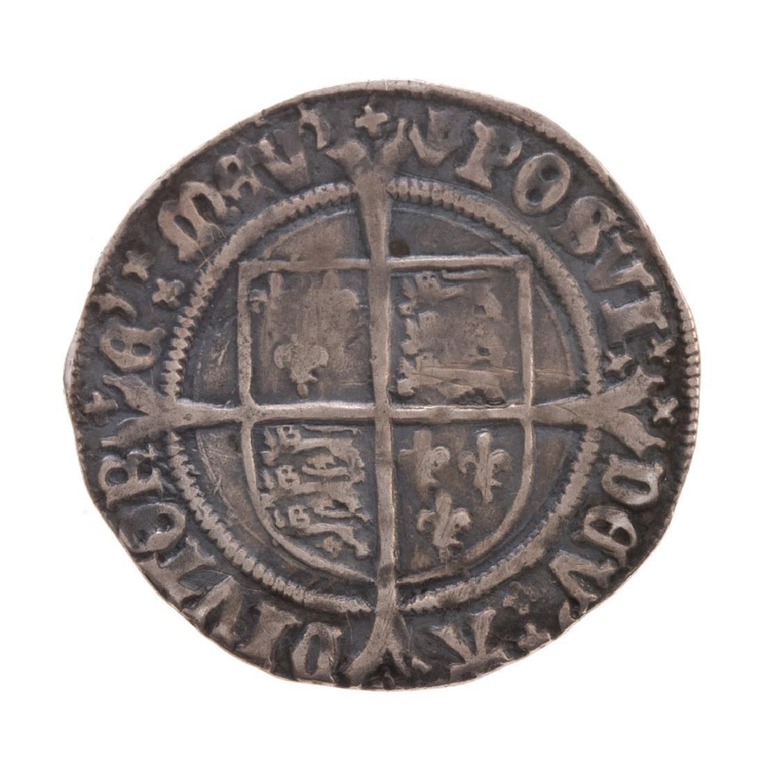 [World] Henry VIII Silver Groat, 1529-1532 - 2