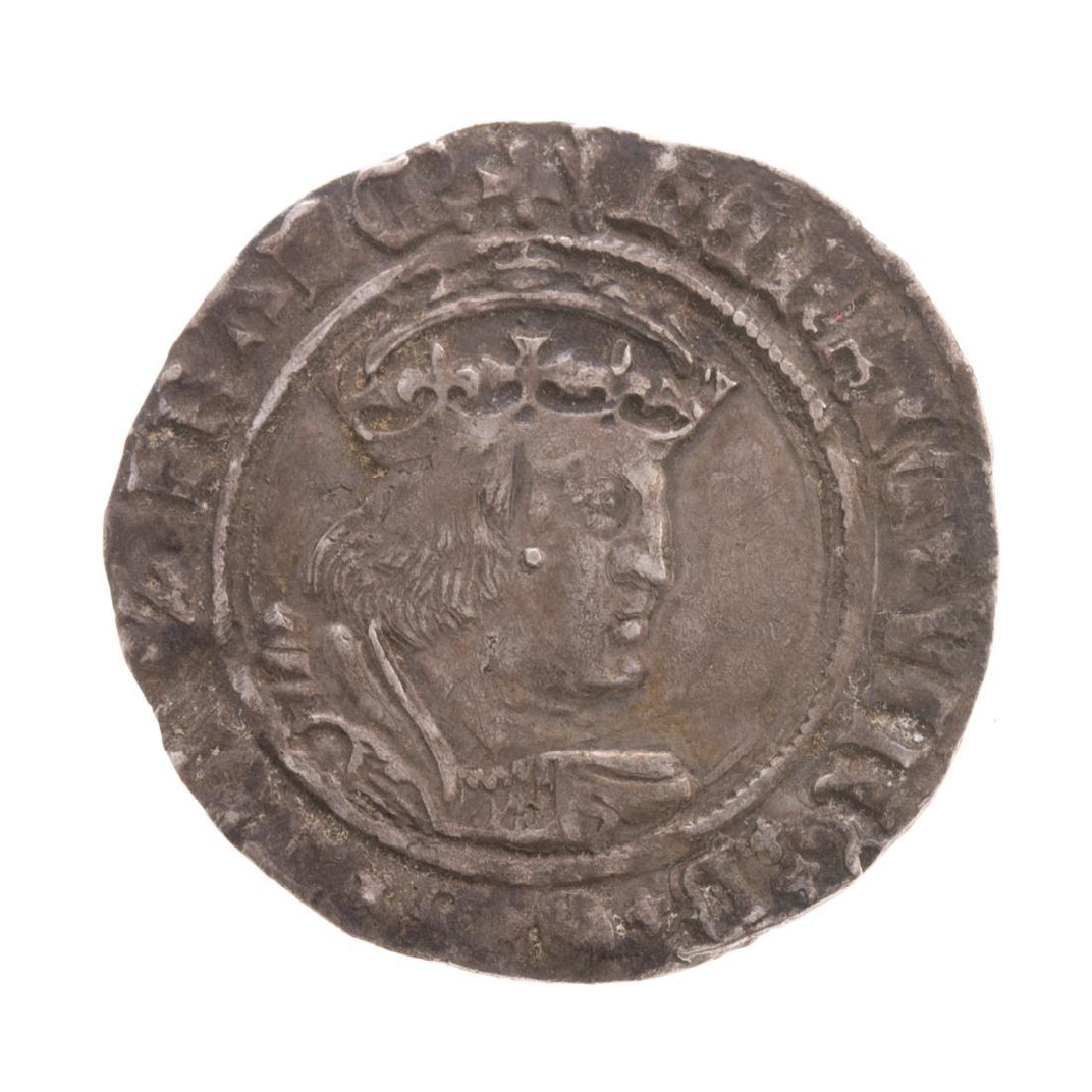 [World] Henry VIII Silver Groat (1529 - 1532)