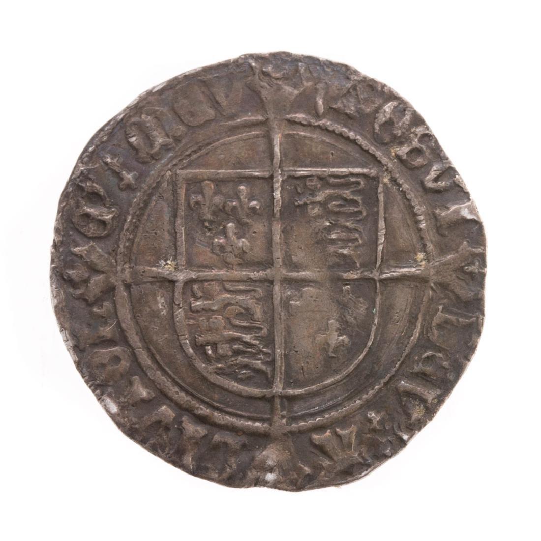 [World] Henry VIII Silver Groat (1529 - 1532) - 2