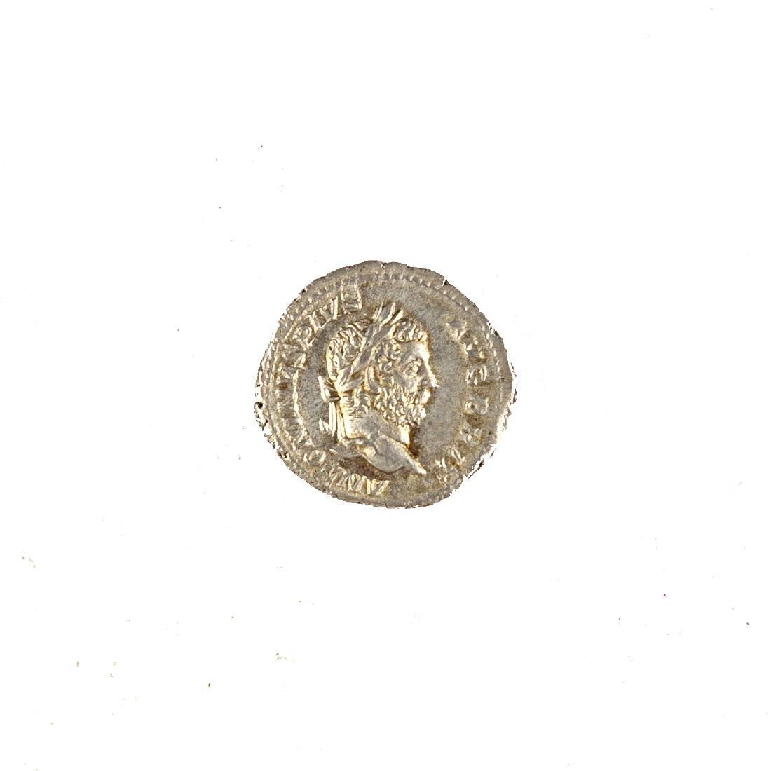 [Ancient] Caracella Silver Denarius 198-217 AD AU