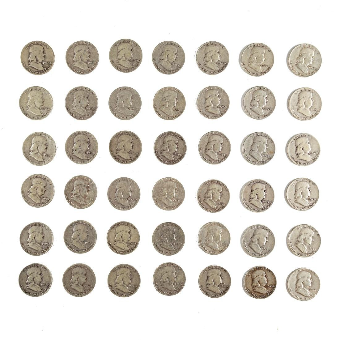 [US] 41 Early Franklin Halves