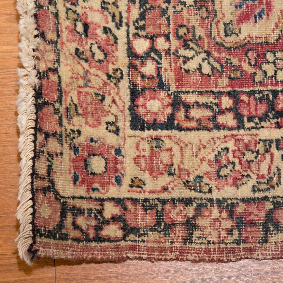 Antique Lavar Kerman rug, approx. 2.11 x 4.5 - 2