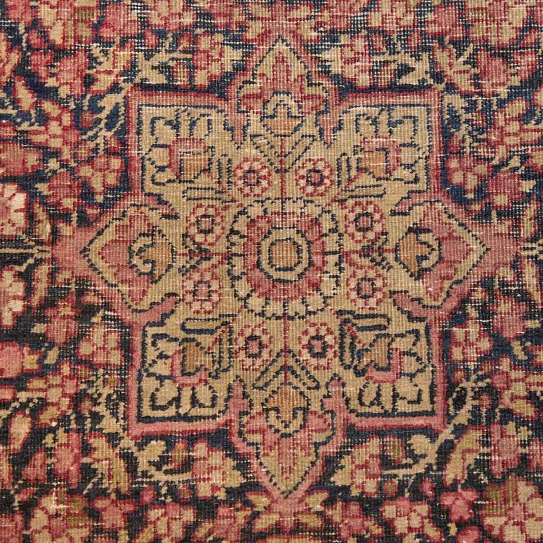 Antique Lavar Kerman rug, approx. 2.11 x 4.5 - 4
