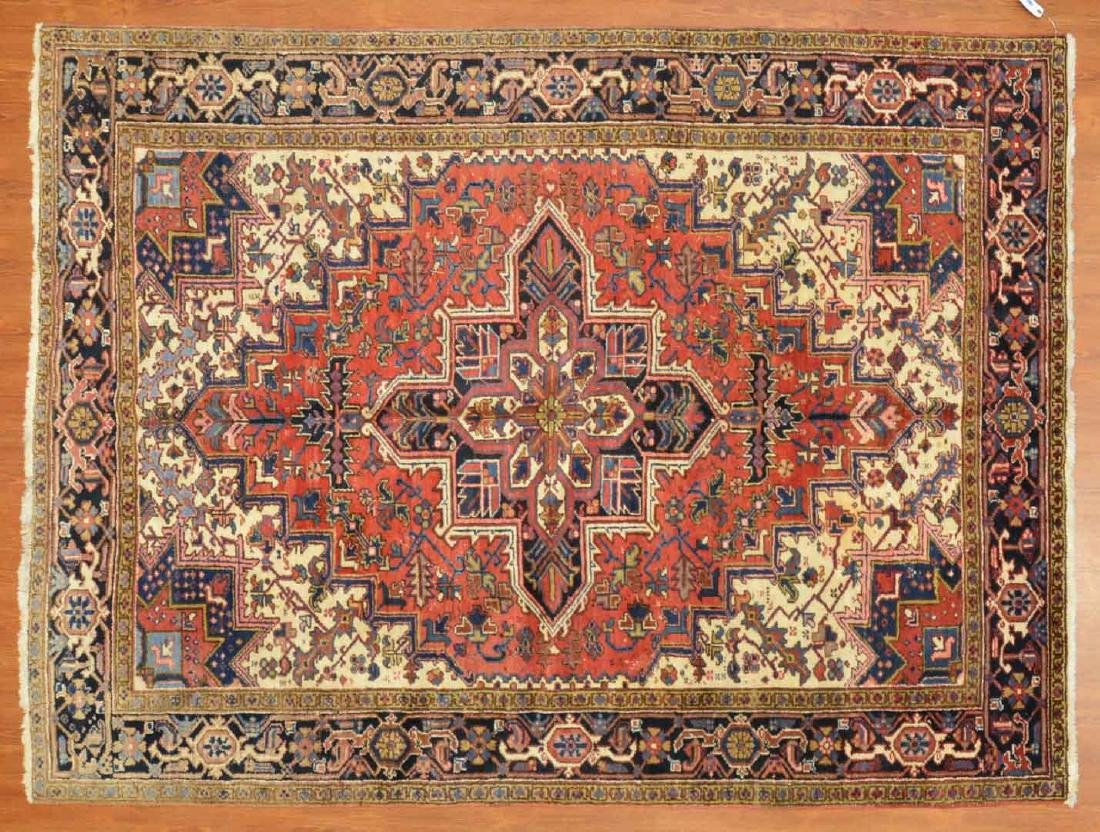 Persian Herez rug, approx. 6.7 x 8.8