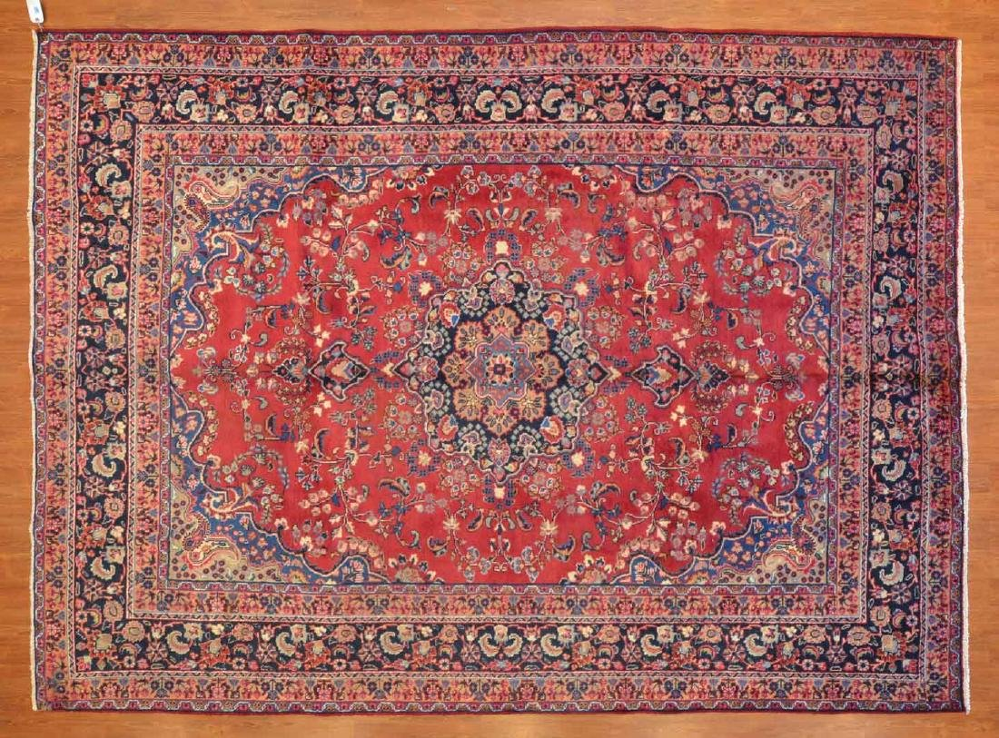 Persian Meshed rug, approx. 8.1 x 11