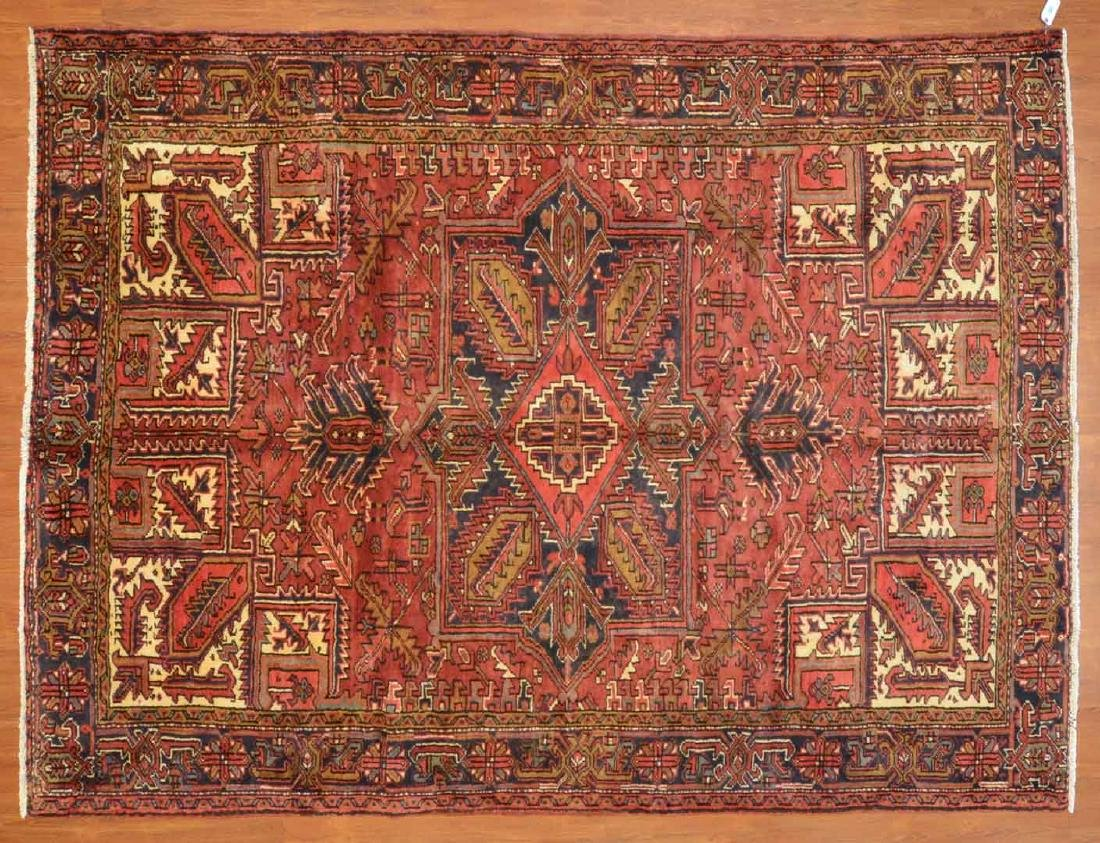 Persian Herez rug, approx. 7.4 x 9.9