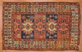 Antique Kazak rug, approx. 5 x 8
