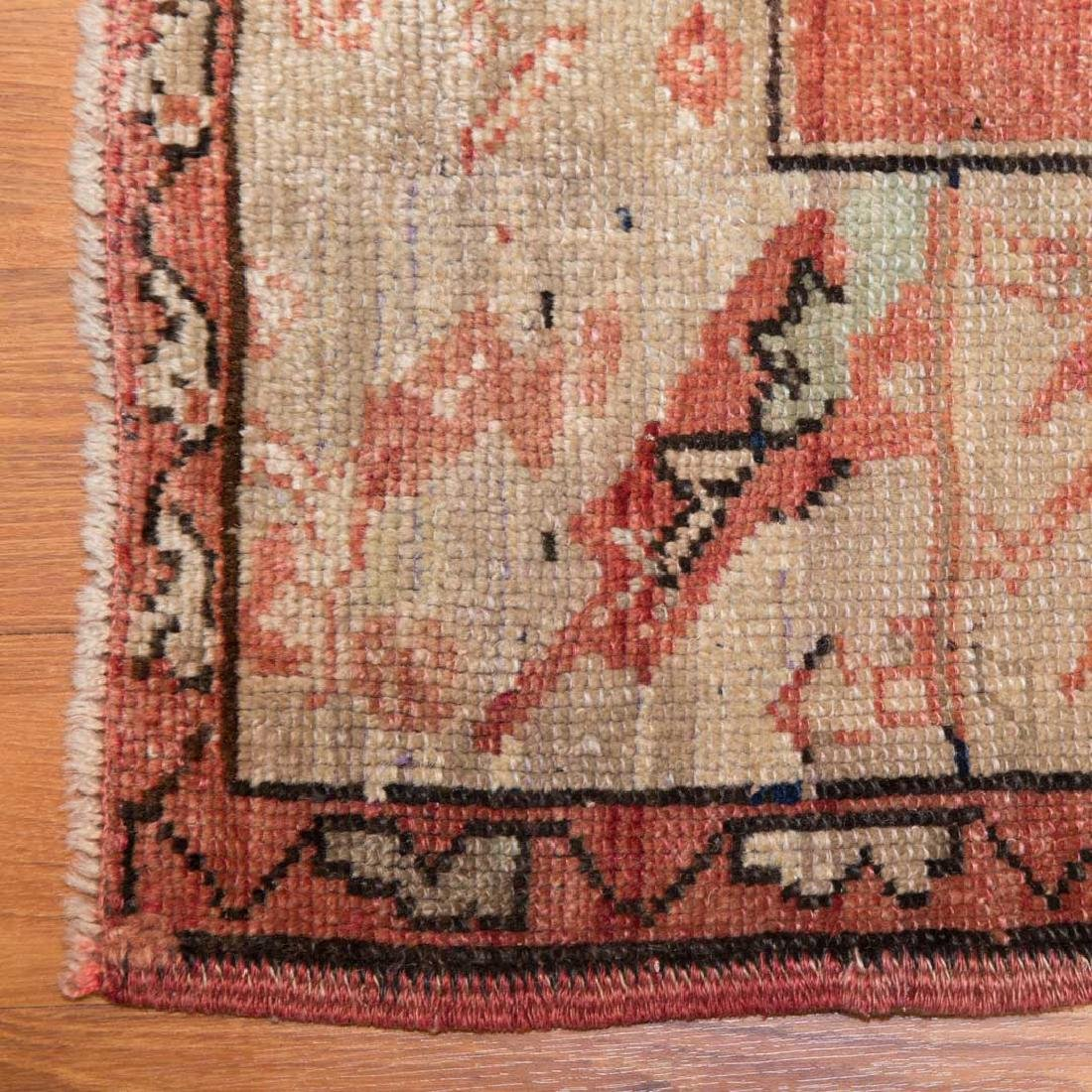 Antique Oushak rug, approx. 4.6 x 6.8 - 2