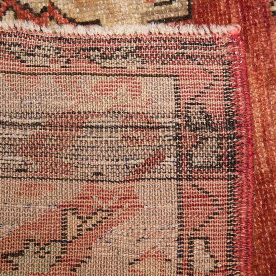 Antique Oushak rug, approx. 4.6 x 6.8 - 3