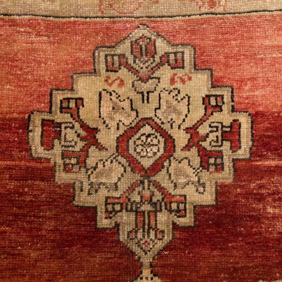 Antique Oushak rug, approx. 4.6 x 6.8 - 4
