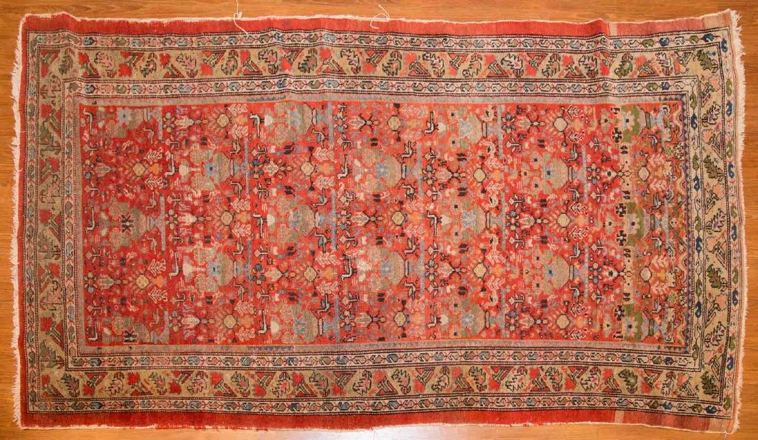 Antique Malayer rug, approx. 4 x 6.10