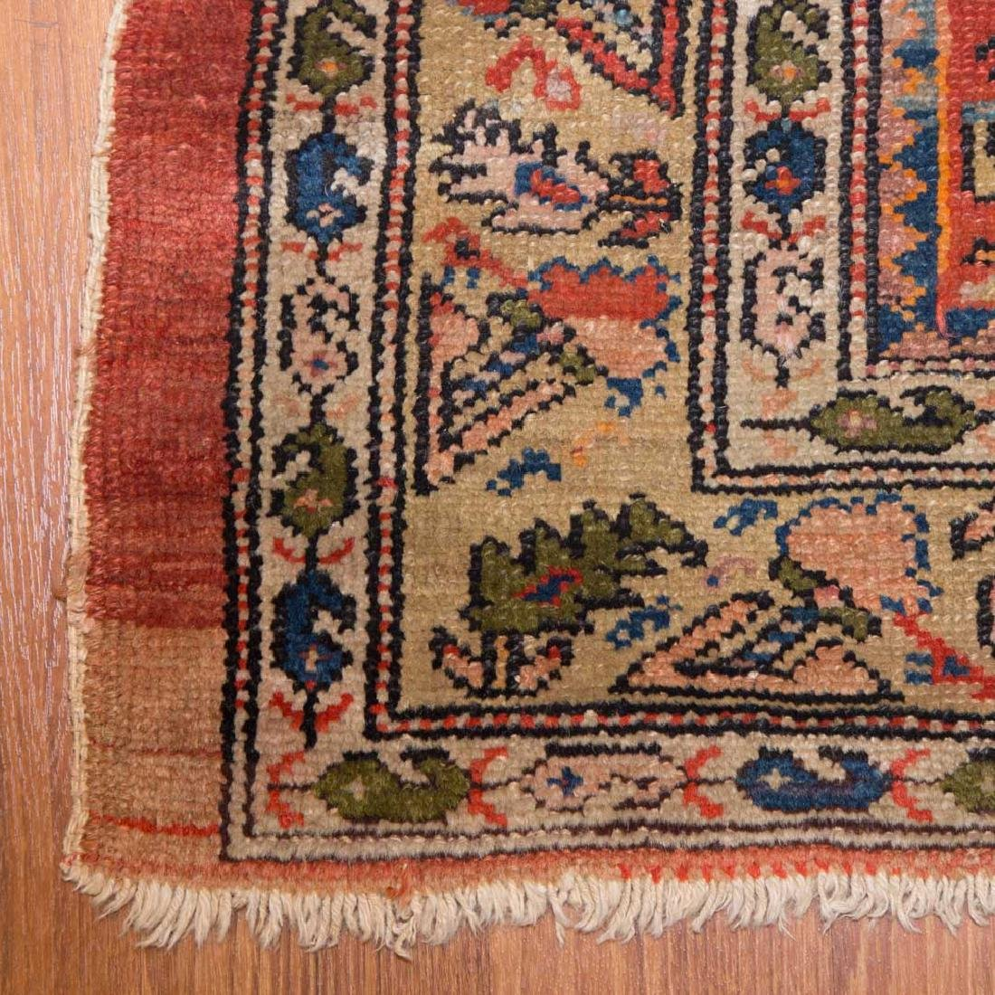 Antique Malayer rug, approx. 4 x 6.10 - 2