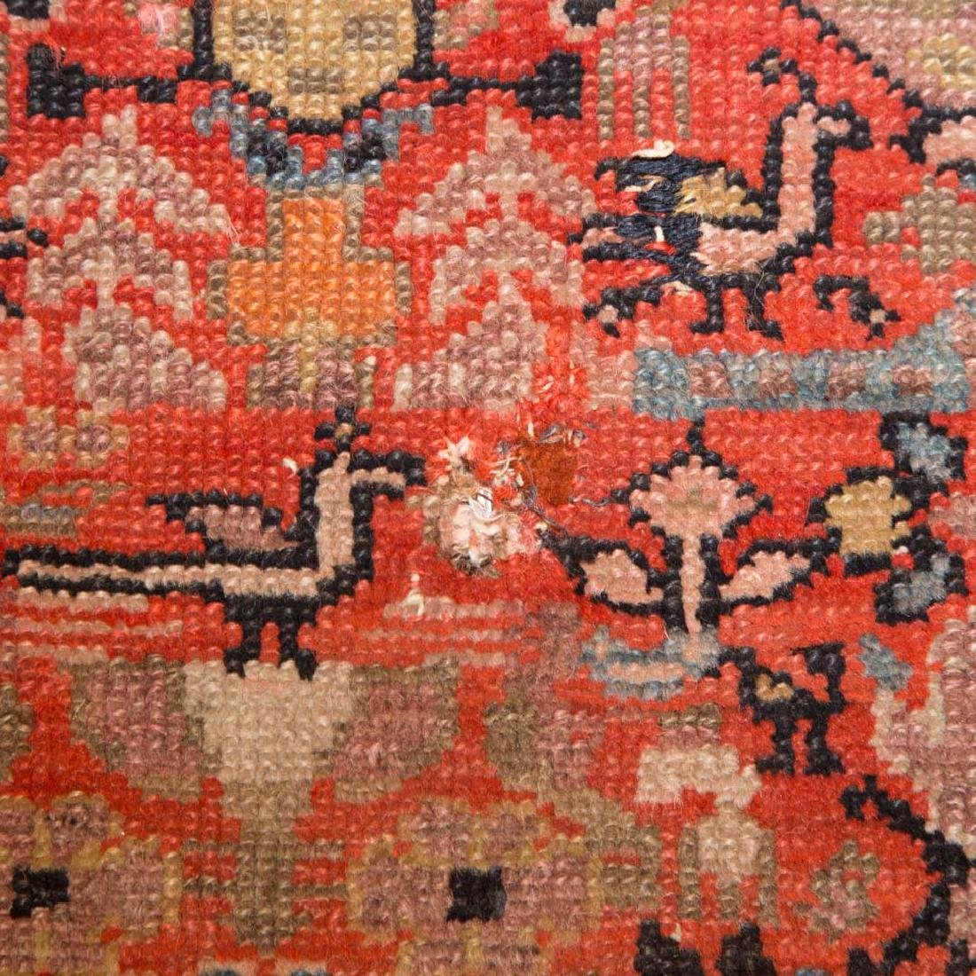 Antique Malayer rug, approx. 4 x 6.10 - 4