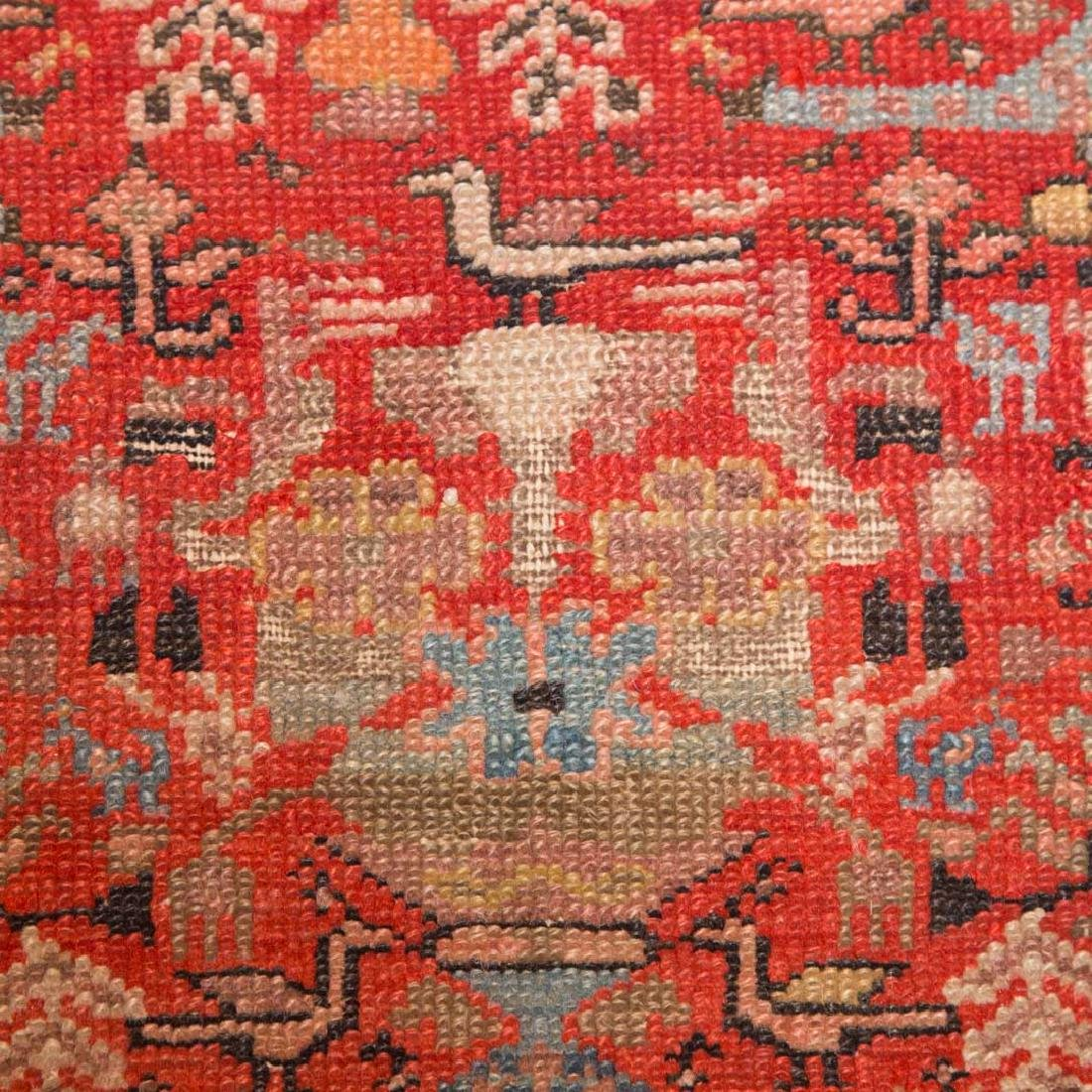Antique Malayer rug, approx. 4 x 6.10 - 5