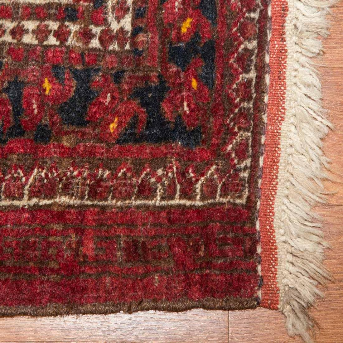 Two Afghani tribal rugs, Afghanistan, circa 1960 - 2