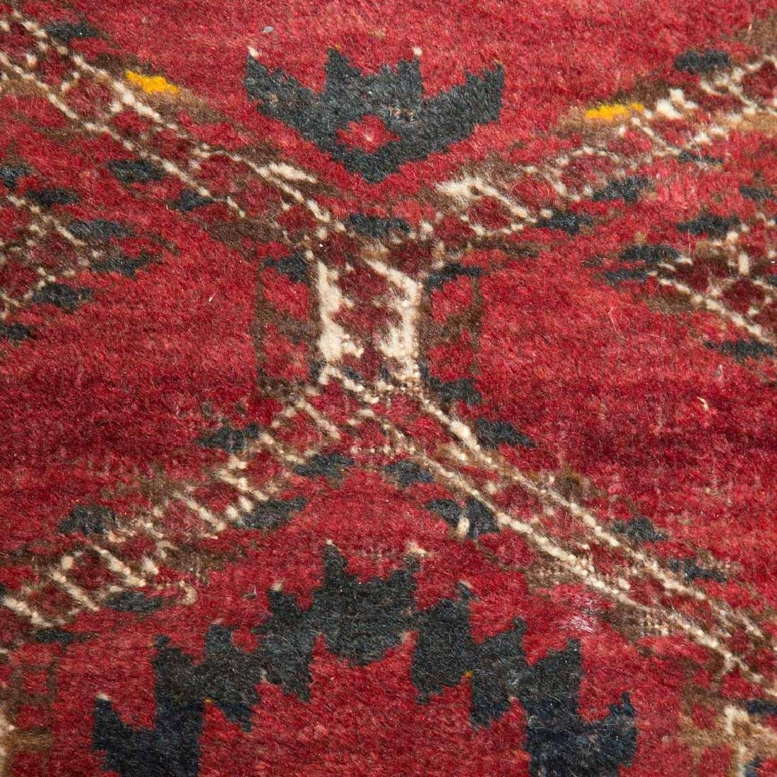 Two Afghani tribal rugs, Afghanistan, circa 1960 - 4