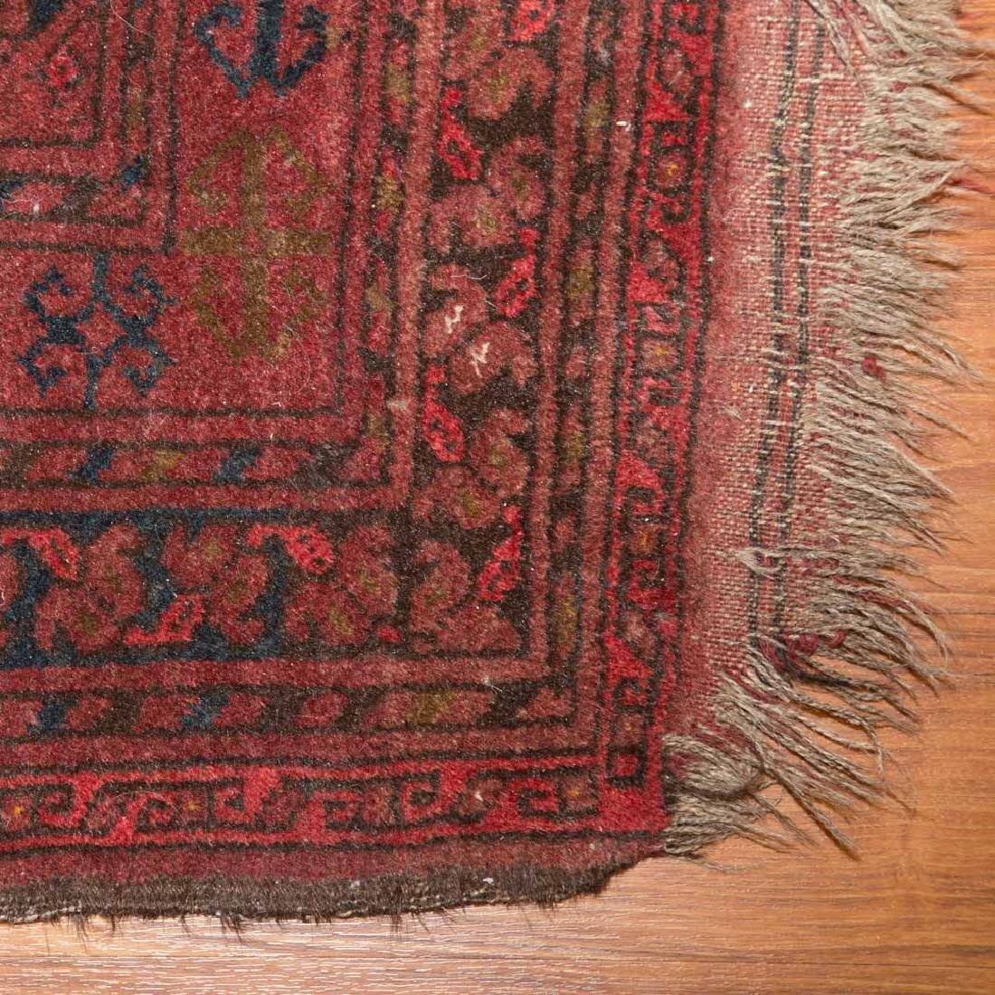 Two Afghani tribal rugs, Afghanistan, circa 1960 - 5
