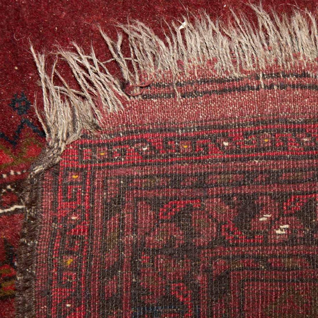 Two Afghani tribal rugs, Afghanistan, circa 1960 - 6