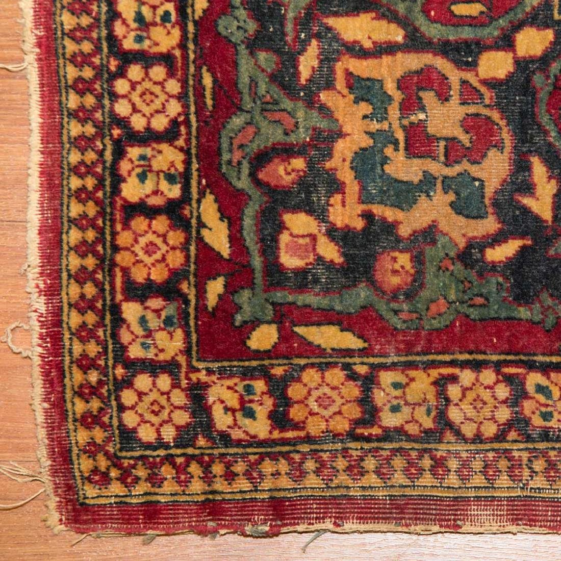 Antique Ispahan rug, approx. 4.7 x 7.2 - 2
